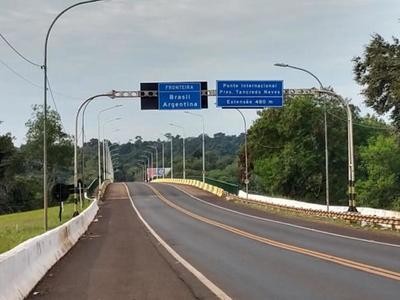 Proponen abrir el puente Tancredo Neves en dos fases desde el 10 de diciembre