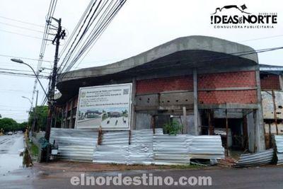 Contra lluvia, viento y marea, Pedro Juan Caballero renueva su estadio municipal, donde conseguirá la décima estrella