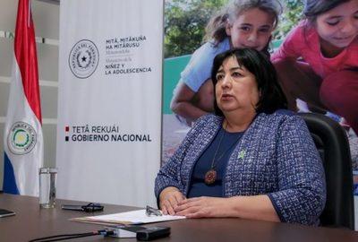 Organización Ni Un Niño Más apoya interpelación a la ministra de la niñez