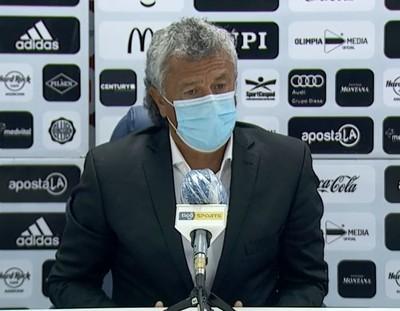 Gorosito asegura que Olimpia fue mejor en el segundo tiempo