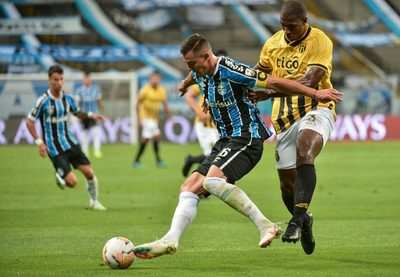 Guaraní cayó en Brasil 2-0 ante Gremio y se despide de la Copa