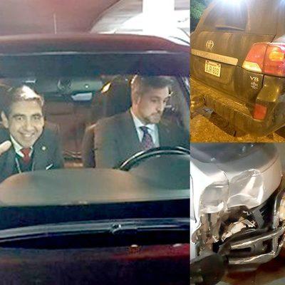 Alto funcionario de Itaipu provoca accidente y se niega a pagar por los daños a humilde trabajador