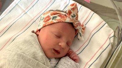 Nació bebé de un embrión congelado hace 27 años
