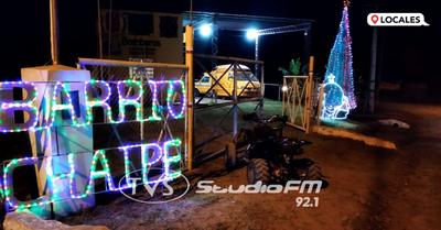 El ambiente navideño ya se siente en el barrio Chaipé de Encarnación