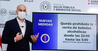 Anuncian restricción de venta de bebidas alcohólicas de 22:00 a 5:00