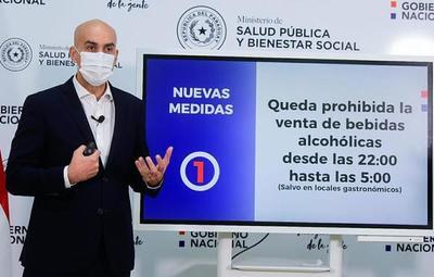 Salud restringe venta de bebidas alcohólicas