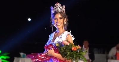 Vanessa Castro es Miss Universe Paraguay 2020