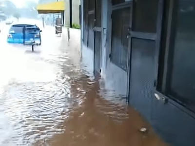 El agua post tormenta, eterno drama ante la desidia de los municipios