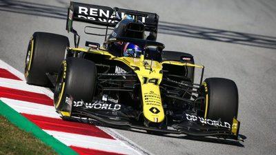 Fernando Alonso pilotará el Renault RS20