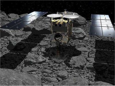 Una sonda espacial japonesa trae de vuelta muestras de asteroide