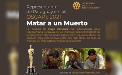 """""""Matar a un muerto"""" representará al Paraguay en los Oscars 2021"""