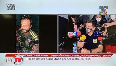 Detienen en Tava'i a líder de secuetradores de ganadero brasileño