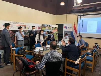 Cooperación coreana trabaja en Asunción con miras al Tren de Cercanías