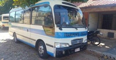 La Nación / Propietarios de 4.000 transportes escolares lamentan abandono del Gobierno