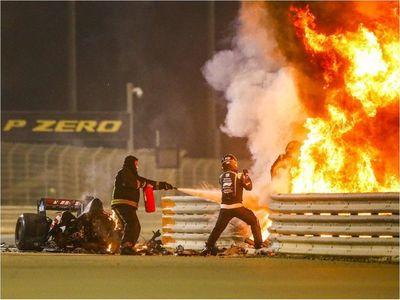 """""""Vi la muerte muy cerca"""", dice piloto que sobrevivió al fuego en la F1"""