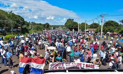 Protesta en Misiones para rechazar inclusión de gastos sociales al PGN
