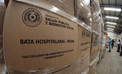 HOY / Salud adquirió un millón de batas quirúrgicas made in Paraguay