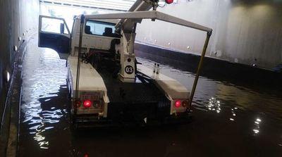 Superviaducto: Costoso túnel que se inunda ante las lluvias
