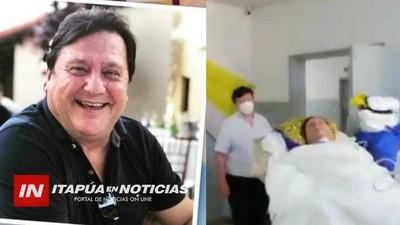 A CASI UN MES DE UN INGRESO, EL DR. ELIEZER SILVERO FUE RETIRADO DE LA SALA DE UTI