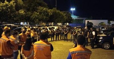 La Nación / Toque de queda en Foz de Yguazú por 200 casos diarios de COVID