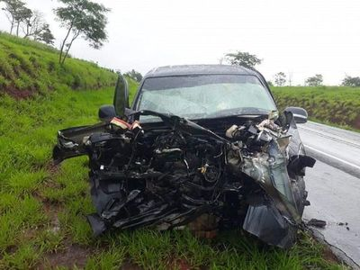 Choque de vehículos deja una fallecida y dos heridos en San Pedro