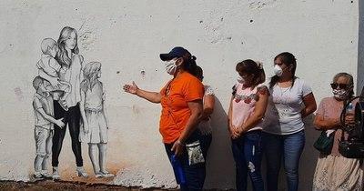 La Nación / Víctimas de feminicidios son recordadas con murales