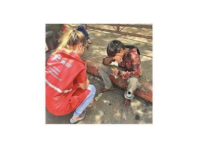 Más de 1.000 niños en calle fueron atendidos ante Covid