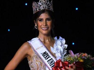 Vanessa Castro  fue coronada como Miss Universo Paraguay
