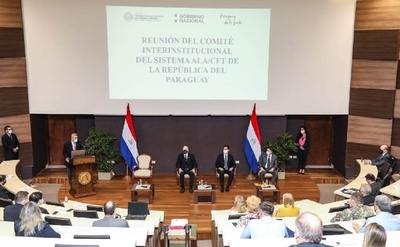 Paraguay tendrá examen sobre control de lavado de dinero