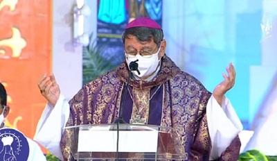 Obispo llama al servicio y a la unidad fraternal en el octavo día del novenario