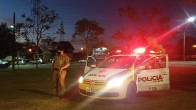 Policía en FOZ avisa que detendrán a quien no RESPETE el TOQUE de QUEDA