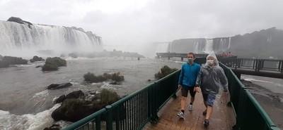 Cataratas del Yguazú, vuelven a ofrecer el ESPECTACULO de las AGUAS