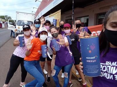 Con colectas, voluntarios festejan su día