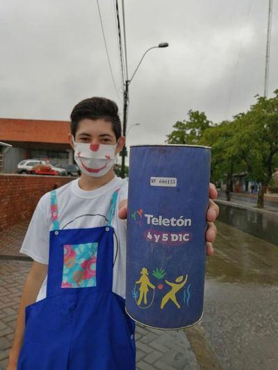 Voluntarios de Teletón ya están prestos para recibir tu aporte