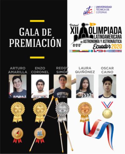 Paraguayo que ganó medallas de oro en las Olimpiadas Latinoamericanas de Astronomía cuenta su experiencia