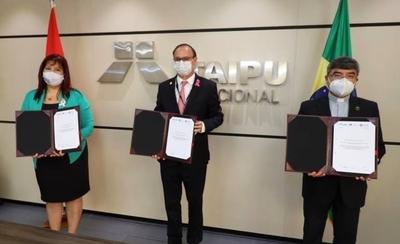 HOY / UNA y Católica presentan proyectos técnicos a Itaipú