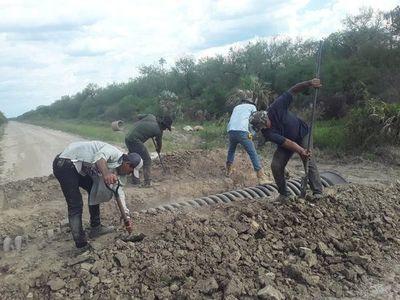 No hay maquinarias para reparar caminos en Alto Paraguay