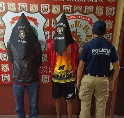 Detienen a dos personas en investigación por doble homicidio en Ciudad del Este