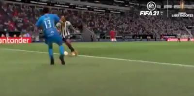 El gol copero de 'Tacuara' recreado en el FIFA 21