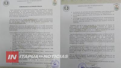 GOBERNADOR RECHAZA INCLUSIÓN DE GASTOS SOCIOAMBIENTALES DE HIDROELÉCTRICA AL PGN