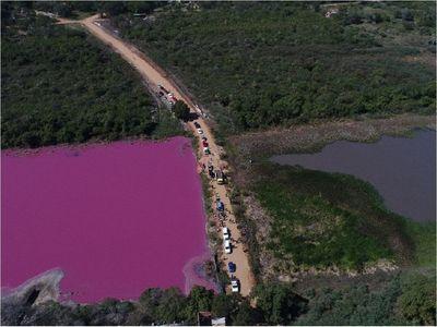 Tomarán muestras de la Laguna Cerro tras desmoronamiento