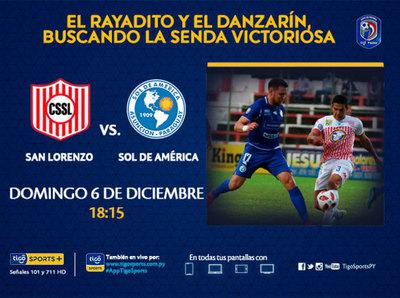 San Lorenzo y Sol de América, con obligación de ganar