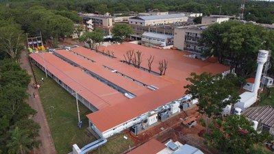 Nuevos pabellones de contingencia en Itauguá se encuentran próximos a ser entregados