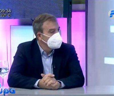 """Dr. Mateo Balmelli: """"El 2021 puede ser un año sanitario más complejo"""""""