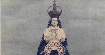 La Nación / Historia de un peculiar cuadro de la Virgen de Caacupé