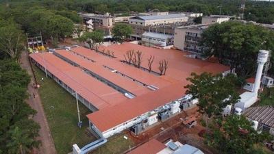 HOY / Hospital de Itauguá tendrá 16 unidades más de terapia para contingencia