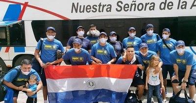 La Nación / Selección paraguaya debuta mañana en mundial de fútbol de arena de Rio