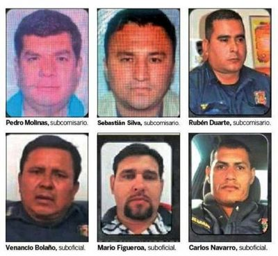 Seis policías enfrentarán juicio oral por supuesta protección a un jefe narco