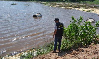 Técnicos del MADES verificaron situación de la Laguna Cerro