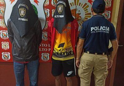 Sospechosos de doble homicidio fueron detenidos